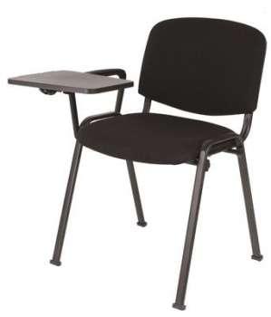 Stolek s pevnou područkou k židli Niceday Iso - černý