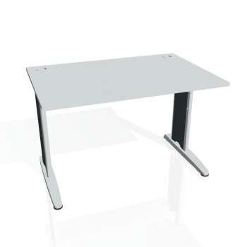 Psací stůl Hobis FLEX FS 1200, šedá/kov