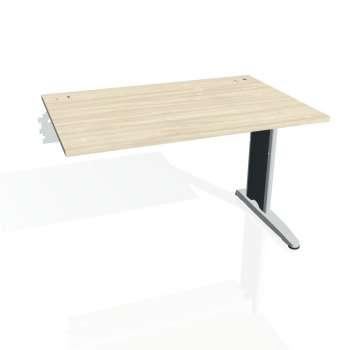 Psací stůl Hobis FLEX FS 1200 R, akát/kov