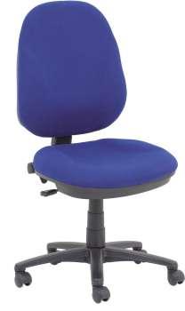 Kancelářská židle Realspace Jura - bez područek, modrá