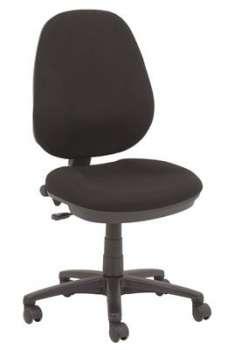 Kancelářská židle Realspace Jura - bez područek, černá