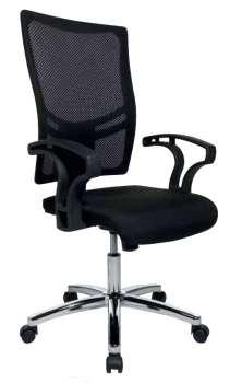 Kancelářská židle  Realspace Pro Sydney synchronní - černá
