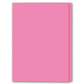 Papírové desky Office Depot - A4, růžové, 100 ks