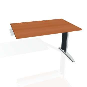 Psací stůl Hobis FLEX FS 1200 R, třešeň/kov
