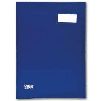 Podpisová kniha Office Depot - A4, 20 listů, modrá
