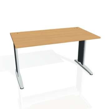 Psací stůl Hobis FLEX FS 1400, buk/kov