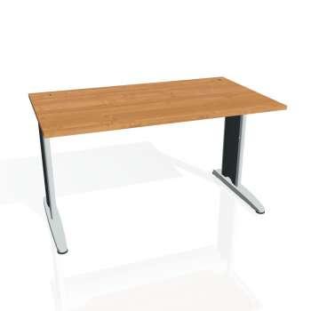 Psací stůl Hobis FLEX FS 1400, olše/kov