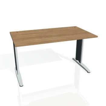 Psací stůl Hobis FLEX FS 1400, višeň/kov