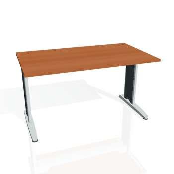 Psací stůl Hobis FLEX FS 1400, třešeň/kov