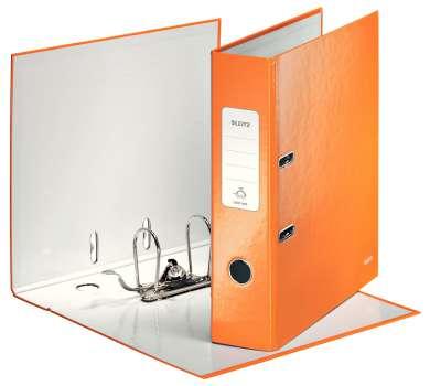 Pákový pořadač Leitz 180° WOW, A4, oranžový