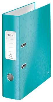 Pákový pořadač Leitz 180° WOW, A4, ledově modrý