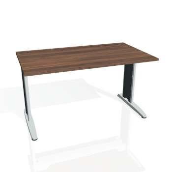 Psací stůl Hobis FLEX FS 1400, ořech/kov