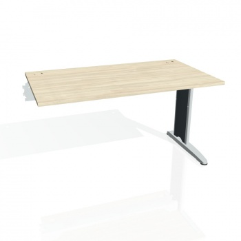Psací stůl Hobis FLEX FS 1400 R, akát/kov