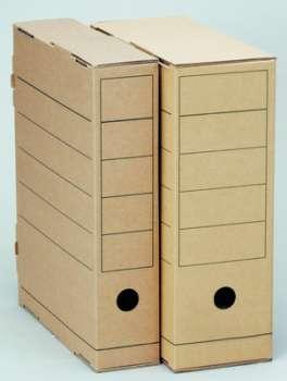 Archivační krabice Natur - 11 x 31,5 x 25,5 cm, hnědá, 5 ks