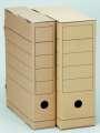 Archivační krabice Natur - 7 x 31,5 x 25,5 cm, hnědá, 5 ks