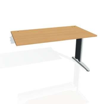 Psací stůl Hobis FLEX FS 1400 R, buk/kov