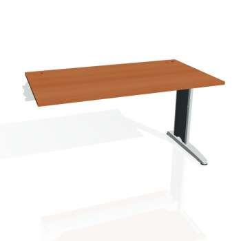 Psací stůl Hobis FLEX FS 1400 R, třešeň/kov