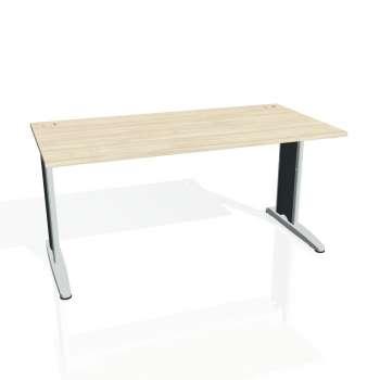 Psací stůl Hobis FLEX FS 1600, akát/kov