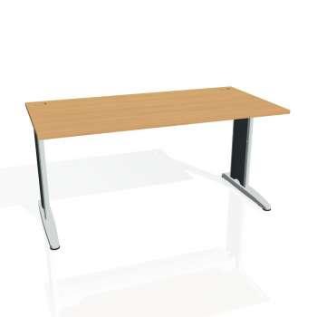 Psací stůl Hobis FLEX FS 1600, buk/kov