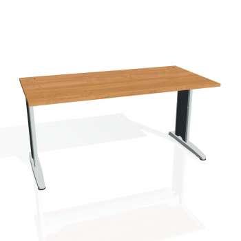 Psací stůl Hobis FLEX FS 1600, olše/kov