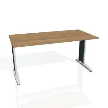 Psací stůl Hobis FLEX FS 1600, višeň/kov