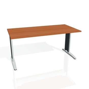 Psací stůl Hobis FLEX FS 1600, třešeň/kov