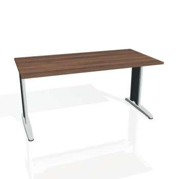 Psací stůl Hobis FLEX FS 1600, ořech/kov