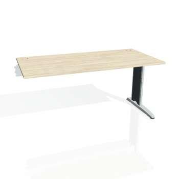 Psací stůl Hobis FLEX FS 1600 R, akát/kov