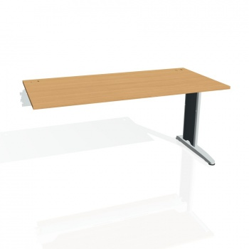 Psací stůl Hobis FLEX FS 1600 R, buk/kov