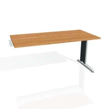 Psací stůl Hobis FLEX FS 1600 R, olše/kov