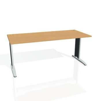 Psací stůl Hobis FLEX FS 1800, buk/kov