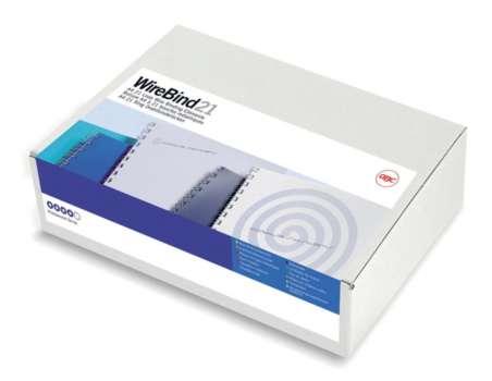 Drátěné hřbety GBC Ibiwires, průměr 12 mm, 100 ks