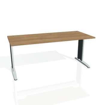 Psací stůl Hobis FLEX FS 1800, višeň/kov