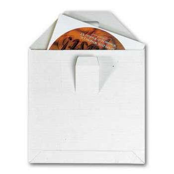 Kartonové obálky - tašky CD, bez lepidla, 100ks