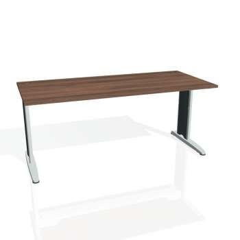 Psací stůl Hobis FLEX FS 1800, ořech/kov