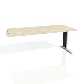 Psací stůl Hobis FLEX FS 1800 R, akát/kov