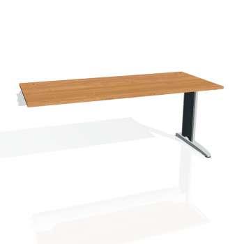 Psací stůl Hobis FLEX FS 1800 R, olše/kov
