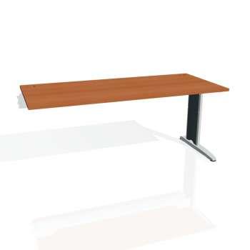 Psací stůl Hobis FLEX FS 1800 R, třešeň/kov