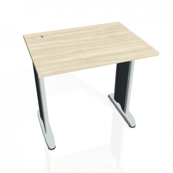 Psací stůl Hobis FLEX FE 800, akát/kov