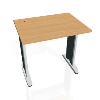 Psací stůl Hobis FLEX FE 800, buk/kov
