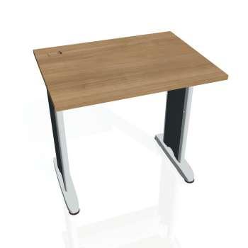 Psací stůl Hobis FLEX FE 800, višeň/kov