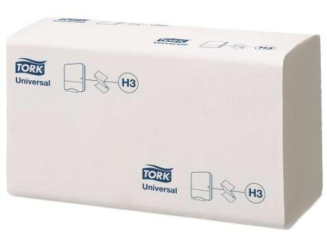 """Papírové ručníky """"Z"""" Tork Singlefold, bílé, 1-vrstvé"""