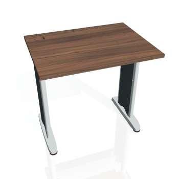 Psací stůl Hobis FLEX FE 800, ořech/kov