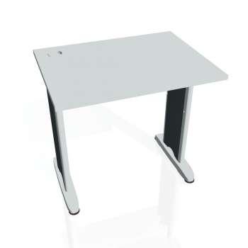 Psací stůl Hobis FLEX FE 800, šedá/kov