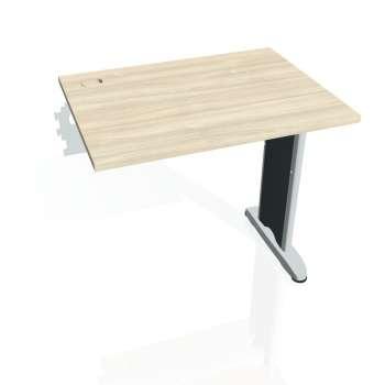Psací stůl Hobis FLEX FE 800 R, akát/kov