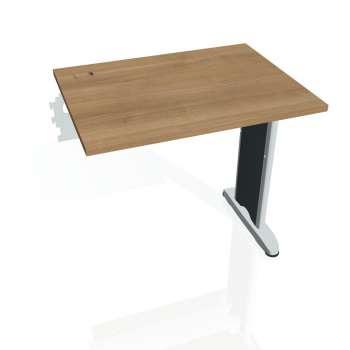 Psací stůl Hobis FLEX FE 800 R, višeň/kov