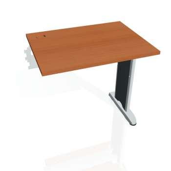 Psací stůl Hobis FLEX FE 800 R, třešeň/kov