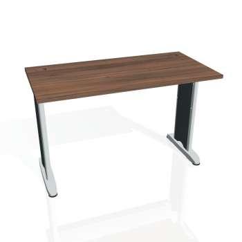 Psací stůl Hobis FLEX FE 1200, ořech/kov