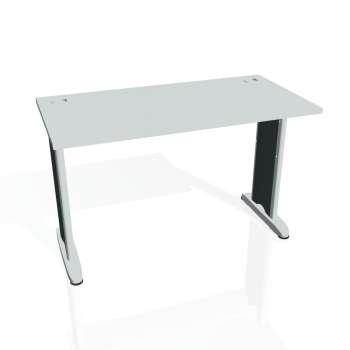 Psací stůl Hobis FLEX FE 1200, šedá/kov