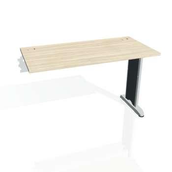 Psací stůl Hobis FLEX FE 1200 R, akát/kov